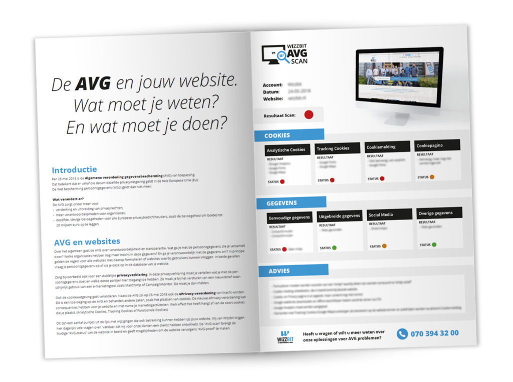 De AVG en jouw website